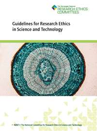 Cover of Guidelines for research ethics in science and technology