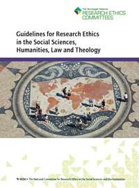 Cover of Guidelines for Research Ethics in the Social Sciences, Humanities, Law and Theology